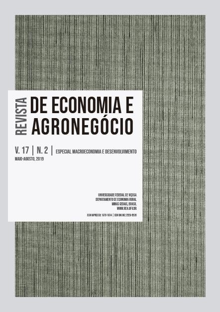 Visualizar v. 17 n. 2 (2019): Especial Macroeconomia e Desenvolvimento