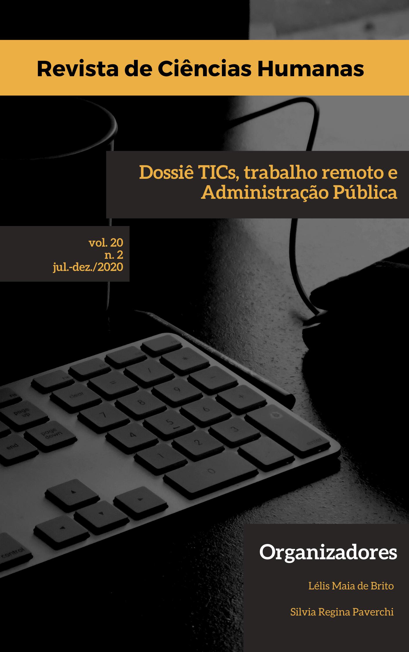 Visualizar n. 2 (2020): TICs, trabalho remoto e Administração Pública