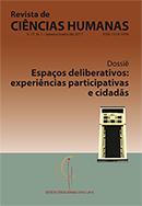 Visualizar n. 1 (2017): Espaços deliberativos: experiências participativas e cidadãs