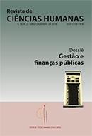 Visualizar n. 2 (2016): Dossiê Gestão e Finanças Públicas