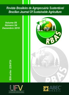 Visualizar v. 9 n. 04 (2019): Revista Brasileira de Agropecuária Sustentável - RBAS