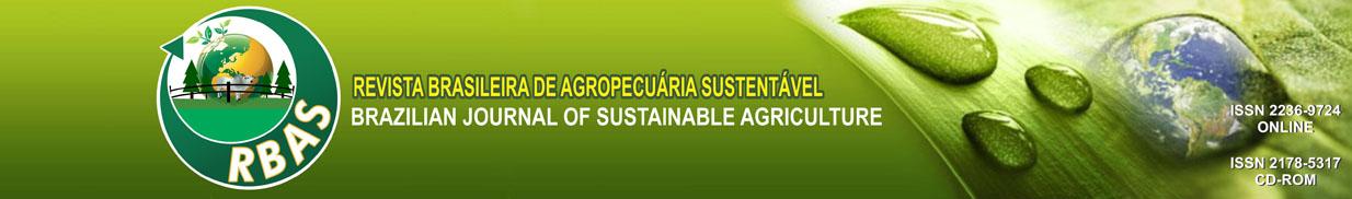 Revista Brasileira de Agropecuária Sustentável