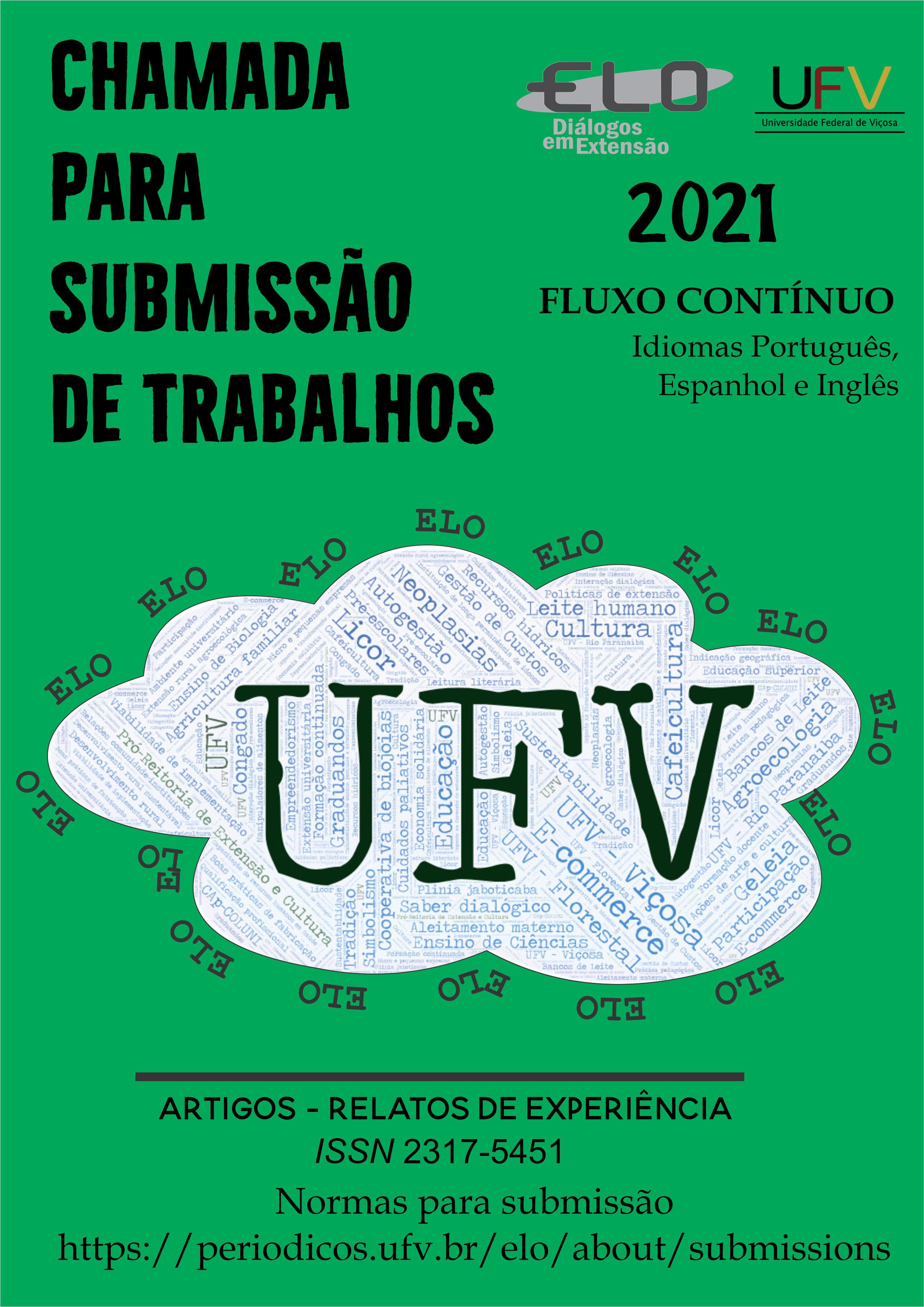 Banner chamada para publicação de trabalhos 2021